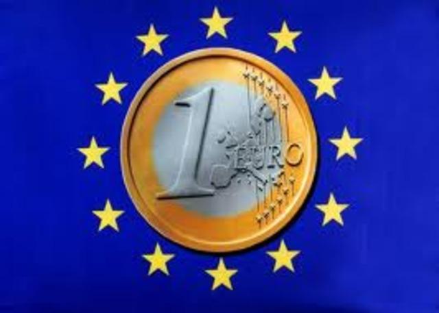 Entrada en circulación del Euro (€)