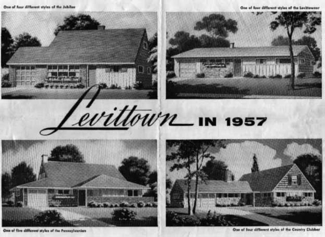 Growth of Suburbs (Levittown)