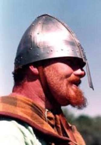 Fondation De La Ville Dublin En Irlande Par Des Colons Vikings Danois