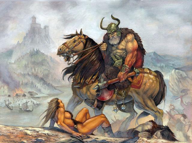 Raids des Vikings le long de la cote méditerranéenne