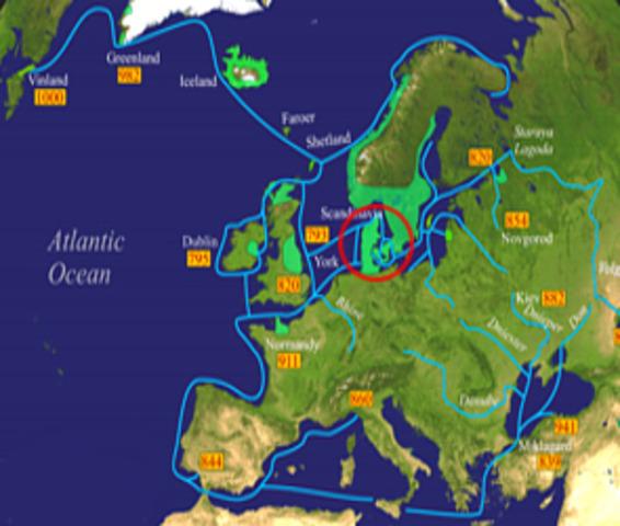 Conquête de l'Angleterre par les Danois