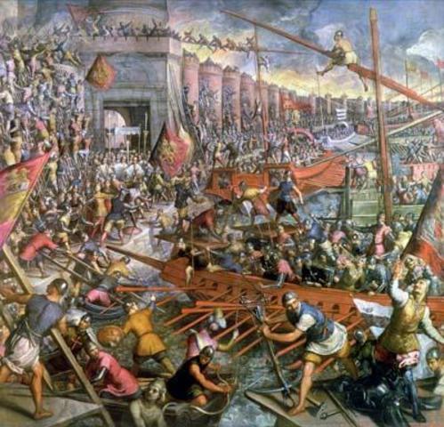 Attaque des Vikings a Constaninople (Istanbul)