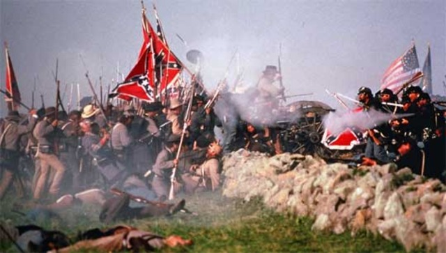 final day of battle at Gettysburg