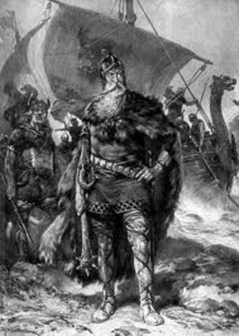 Echec d'un raid viking a Seville (Espagne)
