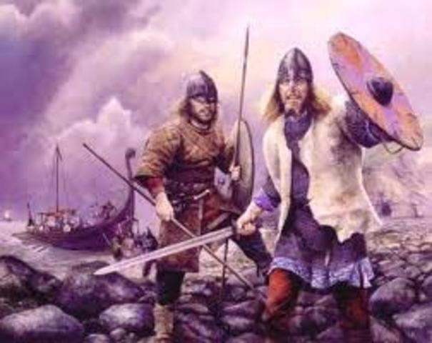 Eshec d'un raid viking a Seville dans l'Espagne