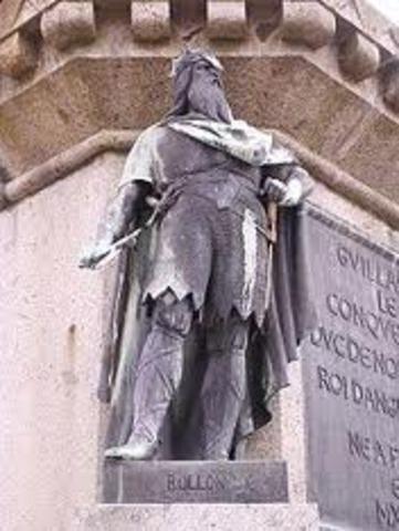 Le chef Viking Rollon obtien les terres des Francs et fonde la Normandie en France
