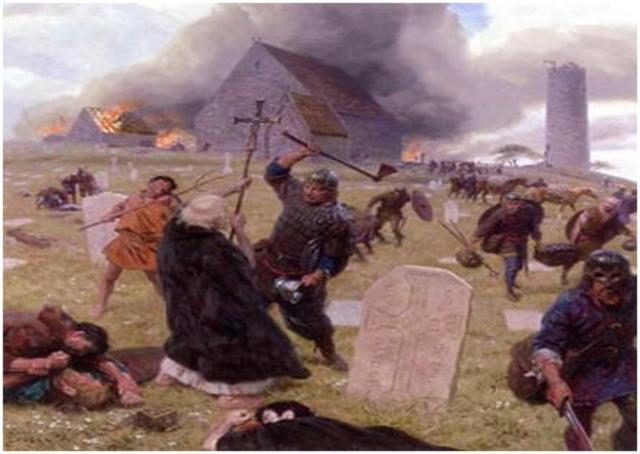 Les Vikings attaque contre Constantinople x2