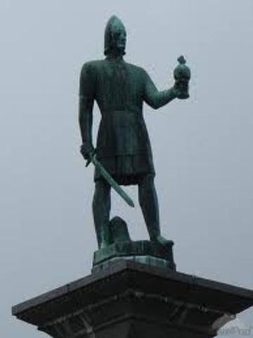 Olav ler devien roi de Norvège et déclare que c'est une royaume Chétien