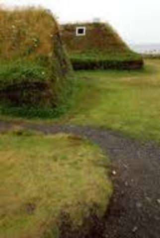 les Vikings fond une colonie dans l;Amérique du Nord