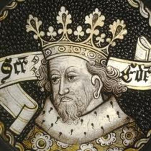 Edouard la Confesseur rène sur l'Angleterre, avec l'appuie des Danois