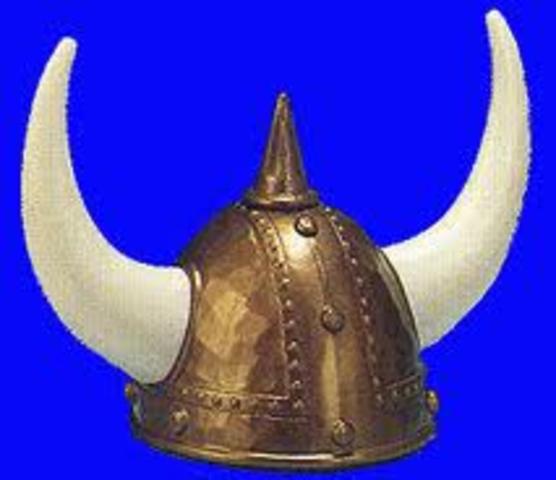 debut des atttauques des Vikings en Angleterre