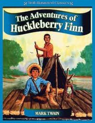 Huck Finn Published by Mark Twain