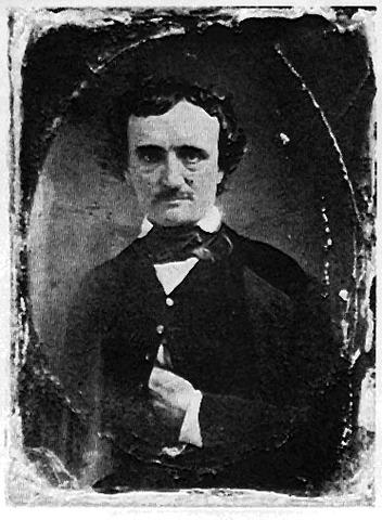 Edgard Allen Poe dies