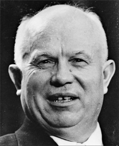 URSS: Kruscher, máximo dirigente