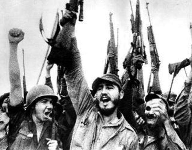 Triunfo de la revolución de Cuba