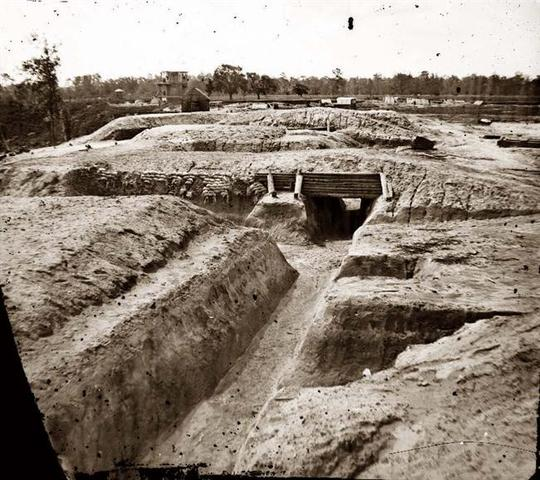 First Trenches were dug