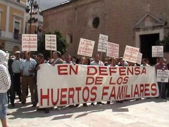 Plan de Badajoz en España.