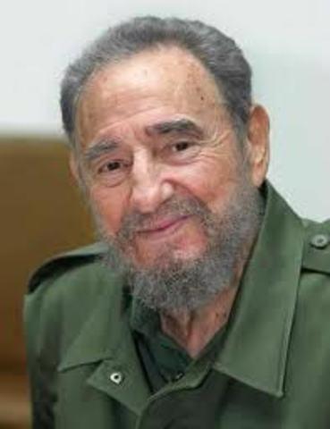 CUBA:DIMISION DE FIDEL CASTRO