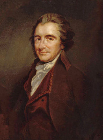 Death of Thomas Paine