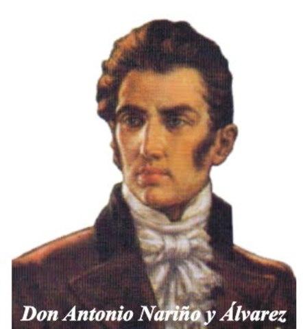 Antonio nariño fue condenado a prision