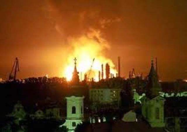 Bombardeo sobre Yugoslavia