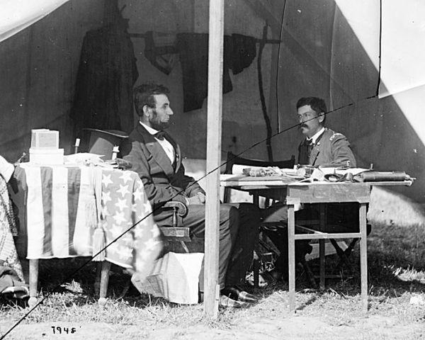 Lincoln Visits McClellan