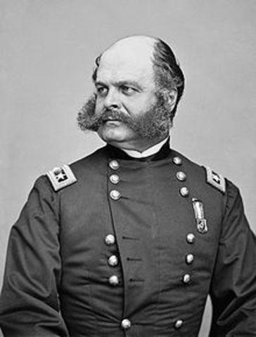 Lincoln Hires General Burnside