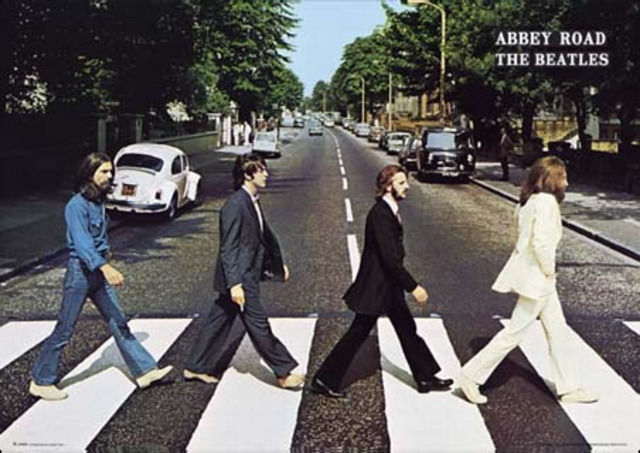 """Dans le 1969, The Beatles detendu le album """" Abbey Road """""""