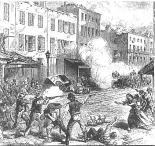 Anti-Draft Riots in New York