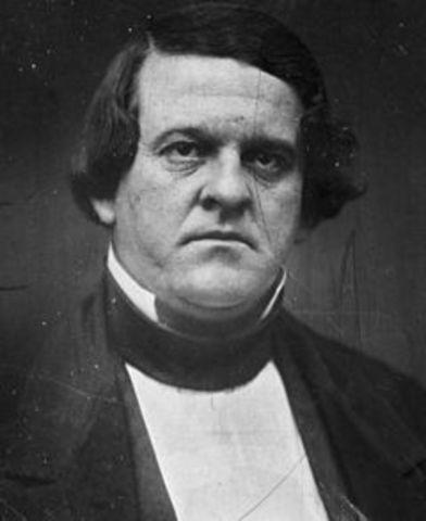 Howell Cobb Resigns