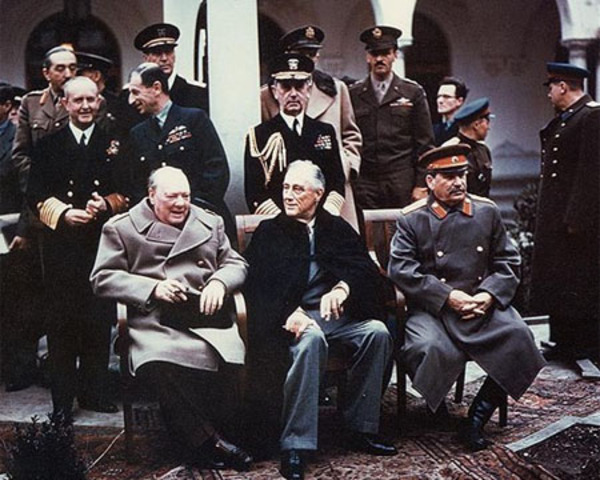 Yalta Conference and Start of Cold War