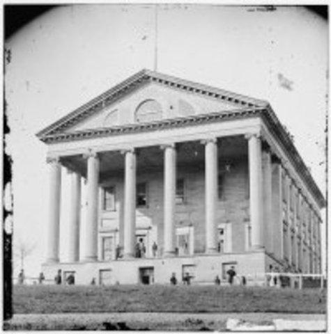 Richmond Named As Confederate Capital