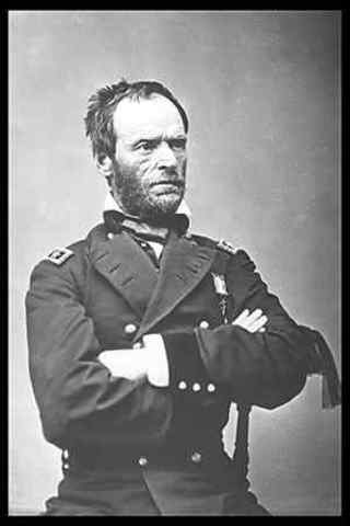 William Sherman's march to the Sea