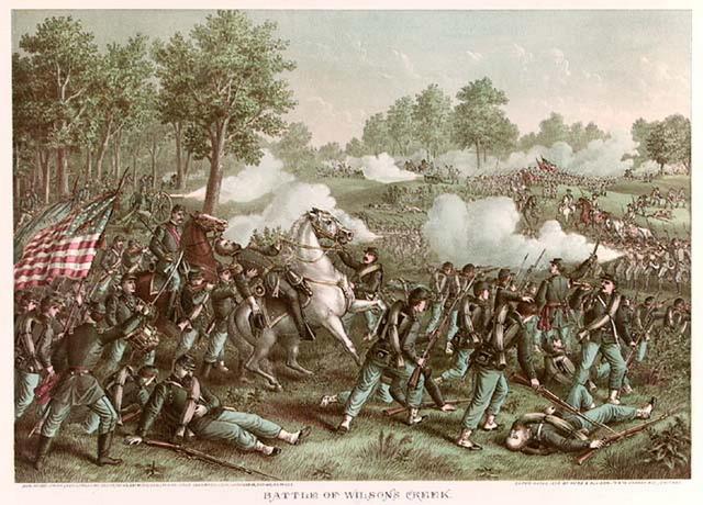 The Battle of Oak Grove