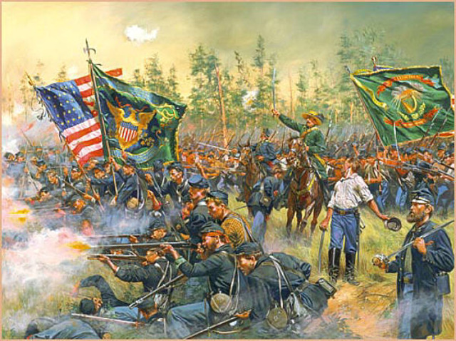 The Battle of Gaine's Mills