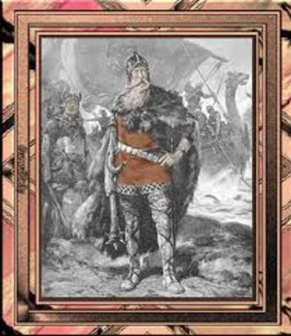 Olav 1er devient roi de Norvege et declare ce territoire un royaume chretien