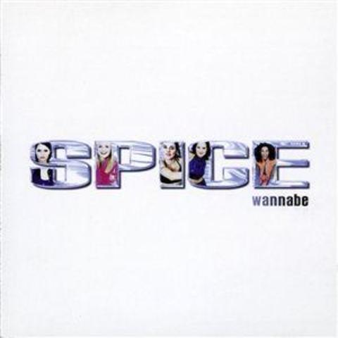"""Le Spice Girls a publiés """"Wannabe"""" leur célèbre chanson."""