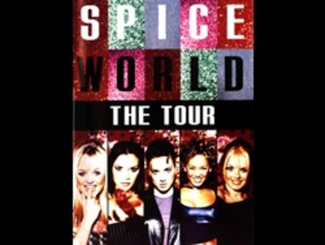 """""""The Spice World Tour""""  commence à Dublin."""