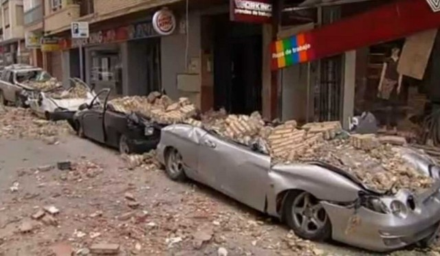Terremoto en Lorca.
