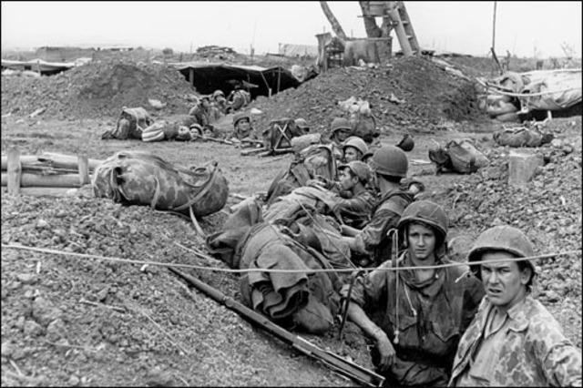 The French are defeated at the Battle of Dien Bien Phu