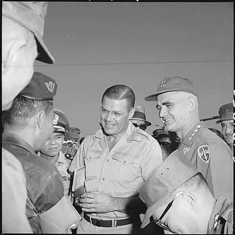 The first U.S. combat troops arrive in Vietnam.
