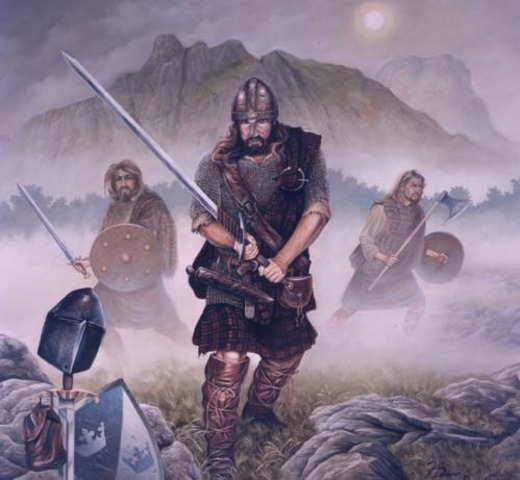 William Wallace becomes the leader of the Scottish rebelion