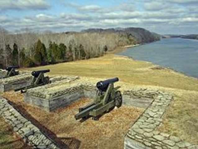 Fort Donelson captured as well!