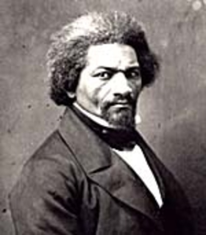 Lincoln Meets With Douglass