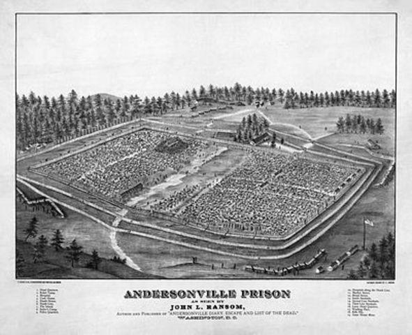 Andersonville Prison Established