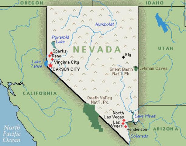 Nevada Enters Union