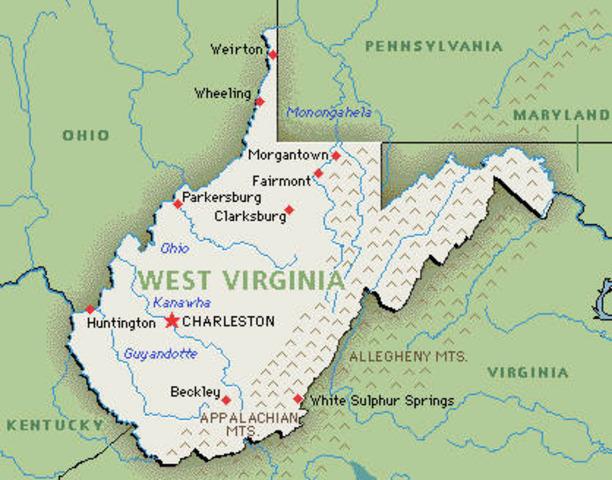 Welcome, West Virginia!