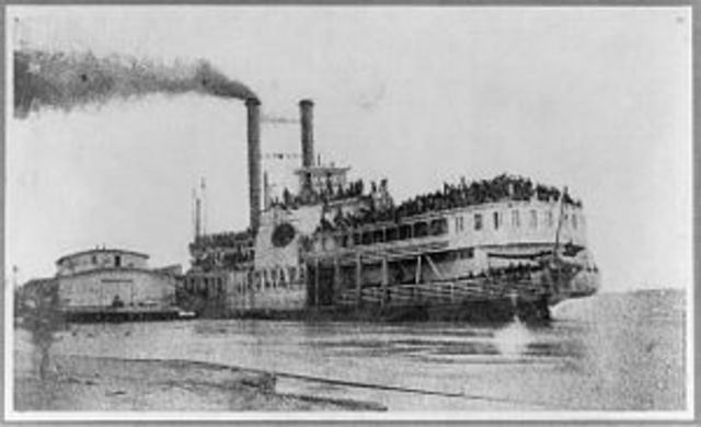 Explosion and Sinking of Sultana