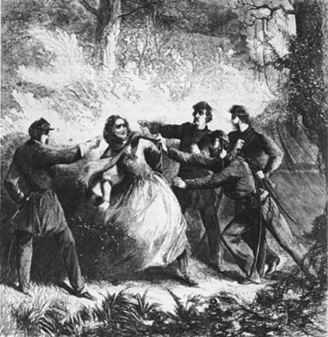 Capture of Jefferson Davis
