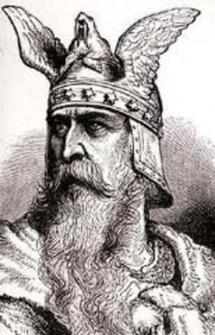Leif Eriksson explore les cotes de Amerique du Nord